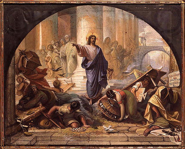 Expulsion of money changers
