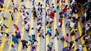 city crowds