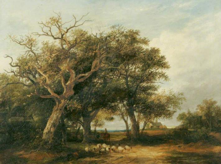 Stark, James, 1794-1859; Marlborough Forest