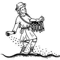 medieval sower