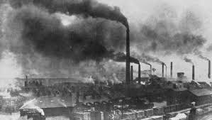 victorian factory smoke
