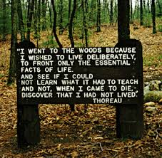 thoreau sign