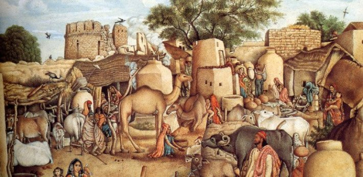 Village-Scene-Punjab