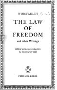 winstanley the law of freedom