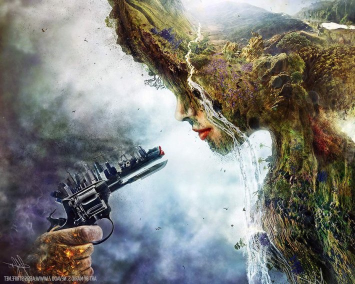 killing mother earth