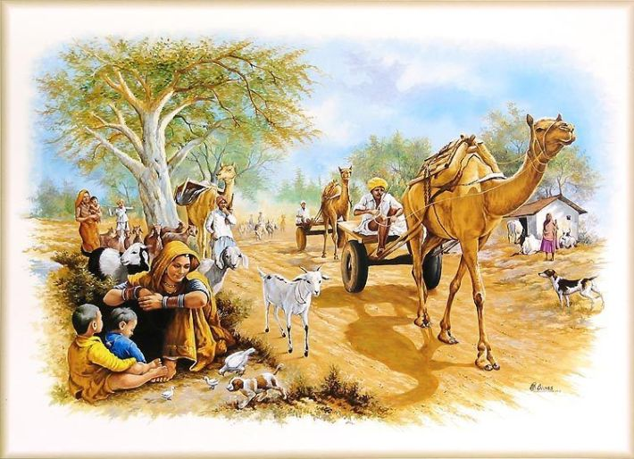 traditional indian life