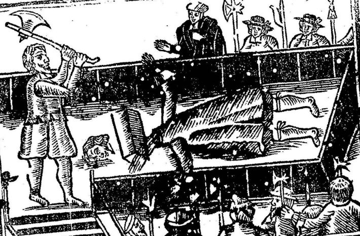 execution of charlesI