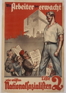 nazi worker poster