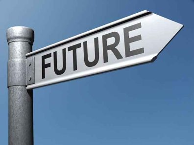 signpost to future