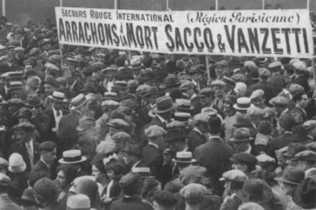 sacco and vanzetti protest